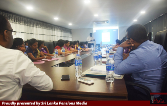 Divisional Secretariats and Officers of the Department of Pensions are in Special Dialogue on New Pension Conversion.