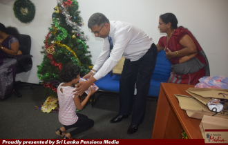 DoP Celebrates Christmas with the Children of DoP Officers
