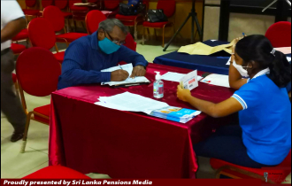First District-Wide Pension Activation Interviews Commenced In Galle